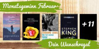 Monatsgewinn Februar: Dein Wunschregal